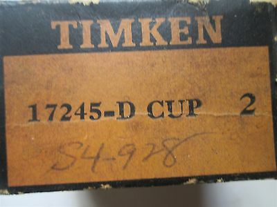 Timken Tapered Roller Bearing Double Cup 17245-D