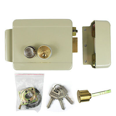 Hot Electric Lock for Video Doorbell Intercom Access Control Security System+Key