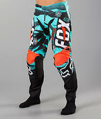 Youth Fox Vicious MX Pant Aqua
