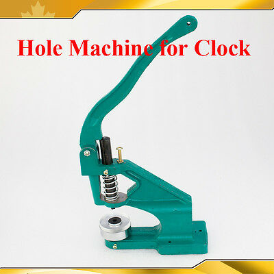 Hole Machine Grommet Punch Press Eyelet Punching Rack for Clock Making 015305