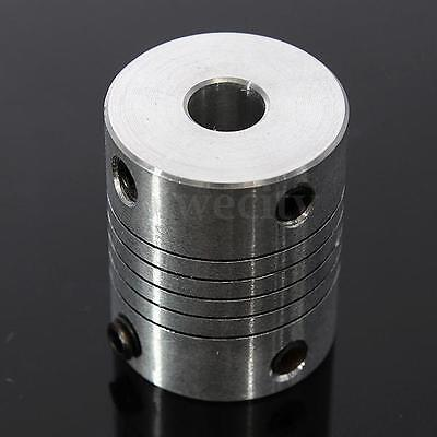 6.35 x 8mm CNC Motor Shaft Coupler Jaw Shaft 6.35mm To 8mm Flexible Coupling New
