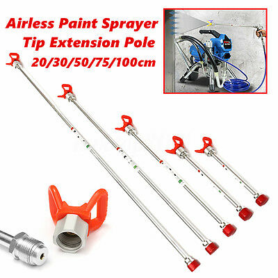 Airless Paint Sprayer Spray Gun Tip Extension Pole For Graco Titan Wagner New