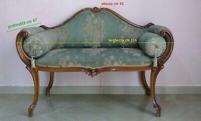 Divano divanetto LIBERTY Art Nouveau OLD love seat sofa COUCH JUGENDSTIL canapé