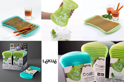Lékué C'rush Ice Crusher Formaghiaccio Tritaghiaccio In Silicone Cocktail Verde