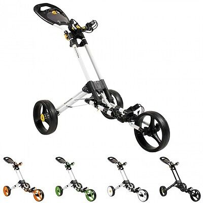 Masters 2016 iCart One 3 Wheel Once Click Golf Push Trolley