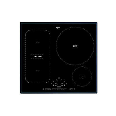 Whirlpool ACM847/BA 6th Sense 3 Zones and Flexi Dual zone Induction Hob 60 cm