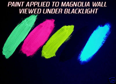 Invisible Effect UV Revealing Paint 'clear to colour'