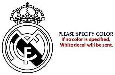REAL MADRID Football JDM Funny Vinyl Decal Car Sticker Window Wall Laptop 12""