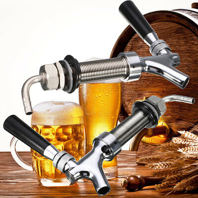 G5/8 Thread Draft Beer Faucet With 92.5mm Long Shank Combo Kit Tap For Kegerator