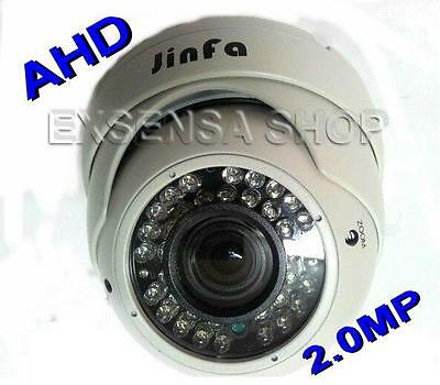 Telecamera Dome Ahd Varifocale 2,8 - 12 Mm Bianca Ccd Sony Zoom Focus 2.0 Mp