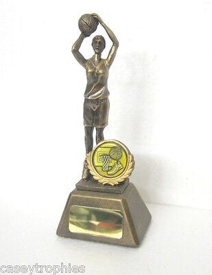 BASKETBALL TROPHY - FEMALE 16cm with FREE ENGRAVING !