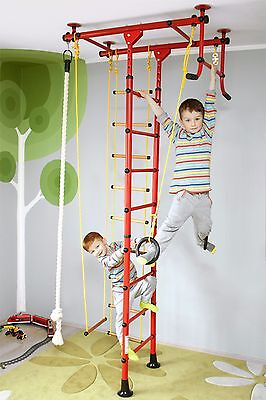 Gym wall Climbing frame Indoor Wall bars Children's Sports equipment FitTop M1