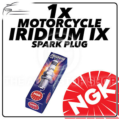 1x NGK Upgrade Iridium IX Spark Plug for HONDA 125cc CBF125 08- 14 #7385