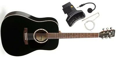 Guitare Electro-acoustique Art & Lutherie Western Black Satin