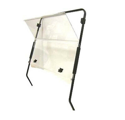 EZ Go golf cart clear hinged windshield txt acrylic with hardware 94-08