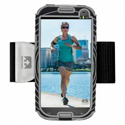Nathan Running Jogging Gym SonicBoom armband for Galaxy S3 Black/Silver