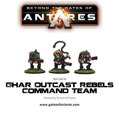 Ghar Outcast Rebels Command Team Warlord Games Beyond the Gates of Antares