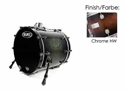 "Mapex Orion 20""x18"" Bassdrum Coffee Burst (Chrome Hardware) 75% Reduziert!!!"