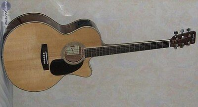 Guitare Electro-acoustique Woodland WEA110N Country Jumbo Naturelle