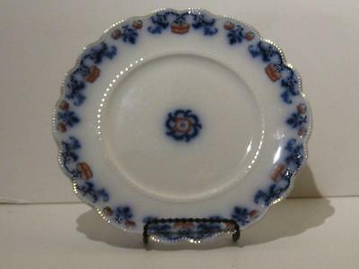 """Flow Blue - 9-3/4"""" Plate ,  Countess by WH Grindley  c 1891"""
