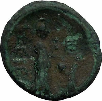 TEGEA in ARKADIA 240BC Eileithuia Athena Aerope Medusa Ancient Greek Coin i56291