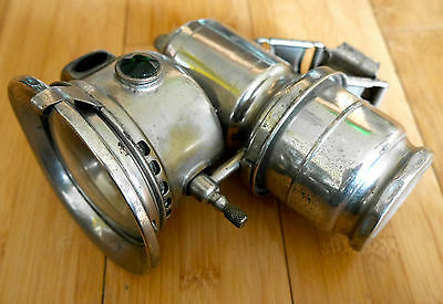 Antique Joseph Lucas Calcia Club Carbide Bike Bicycle Lamp Light 143 Vintage
