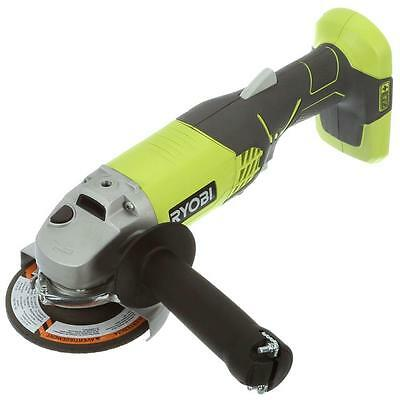 Ryobi Cordless Angle Grinder 18V 4-1/2 in. (Tool Only) Grind Grinding Battery