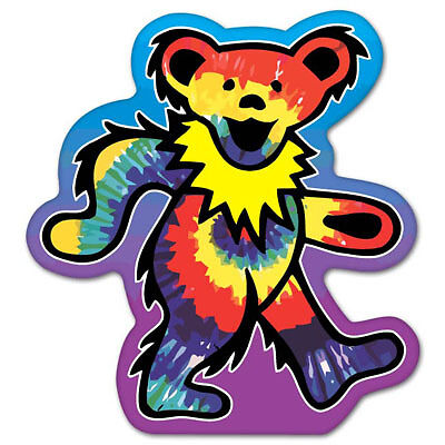Grateful Dead dancing bear Vynil Car Sticker Decal - Select Size
