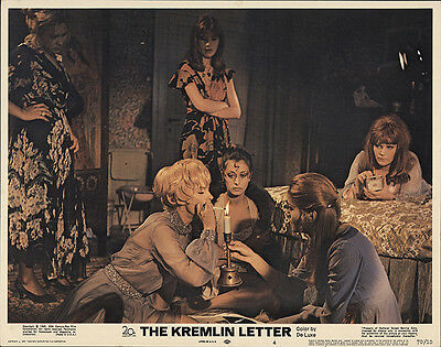The Kremlin Letter 1970 Original Movie Poster Crime Drama Thriller