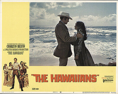 The Hawaiians 1970 Original Movie Poster Charlton Heston Drama