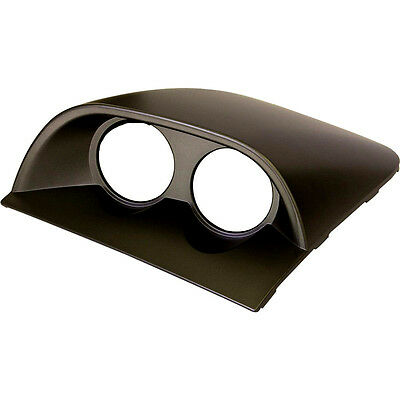 SAAS Holden Commodore Dash Twin Pod 52mm Gauge Holders VY VZ Black