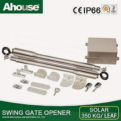 Electric Gates Double 220v GATE OPENER. Ahouse EM3+ Up to 3.5m