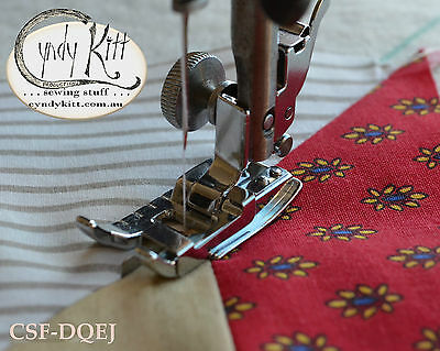 Clip-on Ditch Quilter and Edge Joining Foot