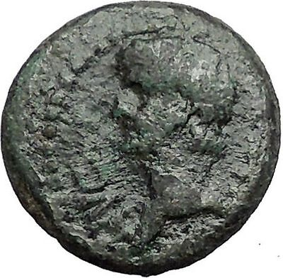 CLAUDIUS 41AD Philippi Macedonia PRIESTS w OXEN Found Colony Roman Coin i56332