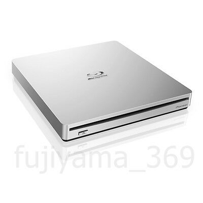 Pioneer BDR-XS06JL BDXLPortable Blu-ray External Drive Silver Free shippng NEW