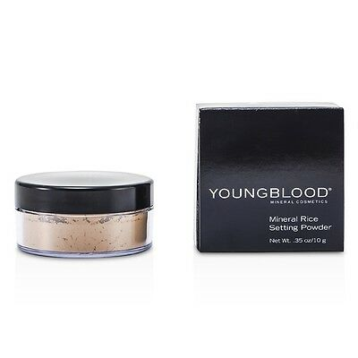 Youngblood Mineral Rice Setting Loose Powder - Medium 10g Womens Make Up