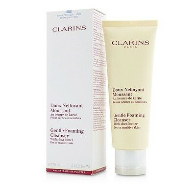 Clarins Gentle Foaming Cleanser with Shea Butter (Dry/ Sensitive Skin) 125ml