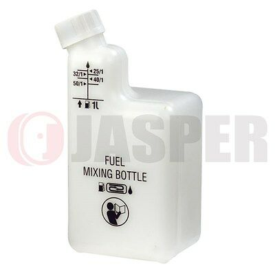 Fuel & Oil Mixing Bottle For 2 Stroke engine Brushcutters, Chainsaws Tracking #
