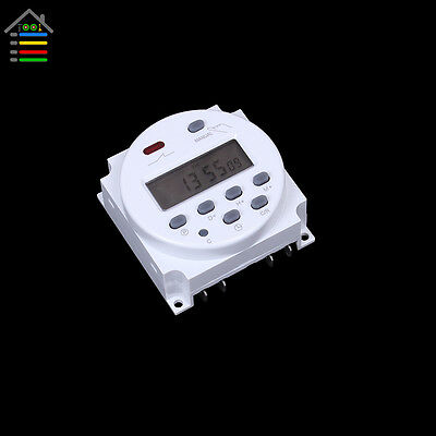 DC 12V Digital Time Switch Electronic Timer LCD Display Power Relay Programmable