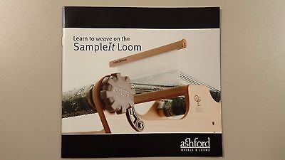 Learn to Weave on the Sample It Loom - Full Colour Instruction Booklet 28 Pages