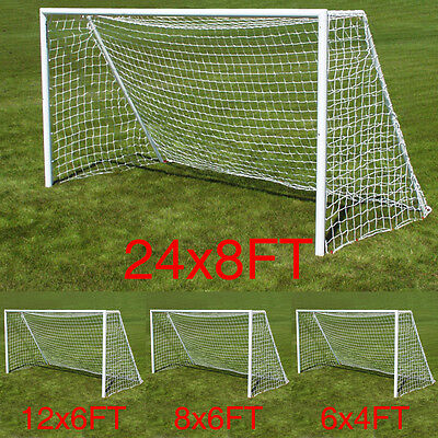 Multi Size Football Soccer Goal Post Net for Sports Training match Outdoor