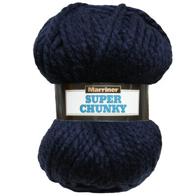 Marriner Yarns Super Chunky 100G | 100% Acrylic
