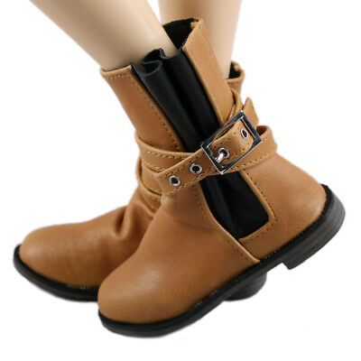 [wamami] Milk Tea Colour Wrinkled Casual Boots/Shoes Male For 1/3 SD Dollfie