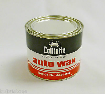 Collinite No.476S Super Double Coat Auto Wax Protects & Lasts 1 Year. 18oz Tin
