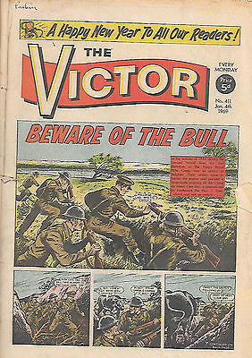 The Victor 411 (Jan 4, 1969) only a fair grade copy