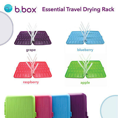 b.box travel drying rack - holds up to 6 bottles