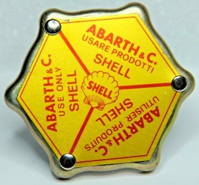 Classic Fiat Abarth 500 595 695 126 Abarth Shell Oil Filler Cap Brand New
