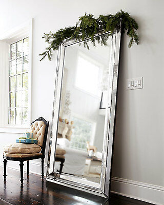 760MM X 1370MM LARGE WALL MIRROR-ART DECO-bedroom metro dressing leaning