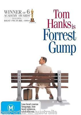 Forrest Gump DVD TOP 250 MOVIES Comedy Romance Tom Hanks BRAND NEW R4