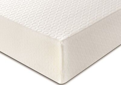 "Memory Foam Mattress 3Ft 4Ft 4Ft6 5Ft In 6"" 8"" 10"" Luxury Single Double King!!!"